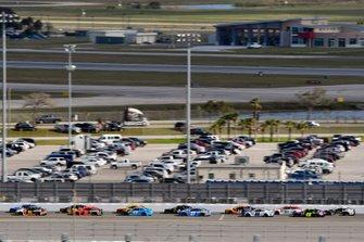 Matt DiBenedetto, Leavine Family Racing, Toyota Camry Procore, Martin Truex Jr., Joe Gibbs Racing, Toyota Camry Bass Pro Shops