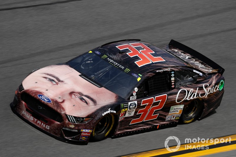 32. Corey LaJoie, Go FAS Racing, Ford Mustang Old Spice