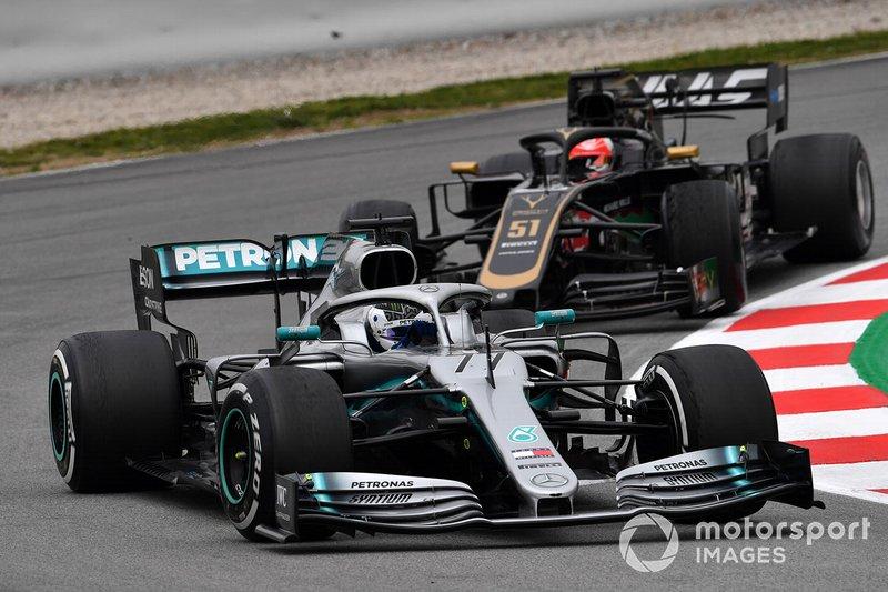 Валттері Боттас, Mercedes-AMG F1 W10 та П'єтро Фіттіпальді, Haas F1 Team VF-19
