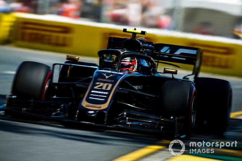 7. Кевін Магнуссен, Haas F1 Team VF-19, 1.22,099