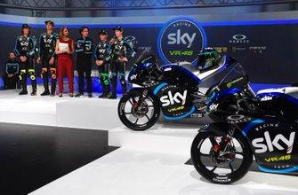 Nicolò Bulega, Luca Marini, Celestino Vietti, Dennis Foggia, Sky Racing Team VR46