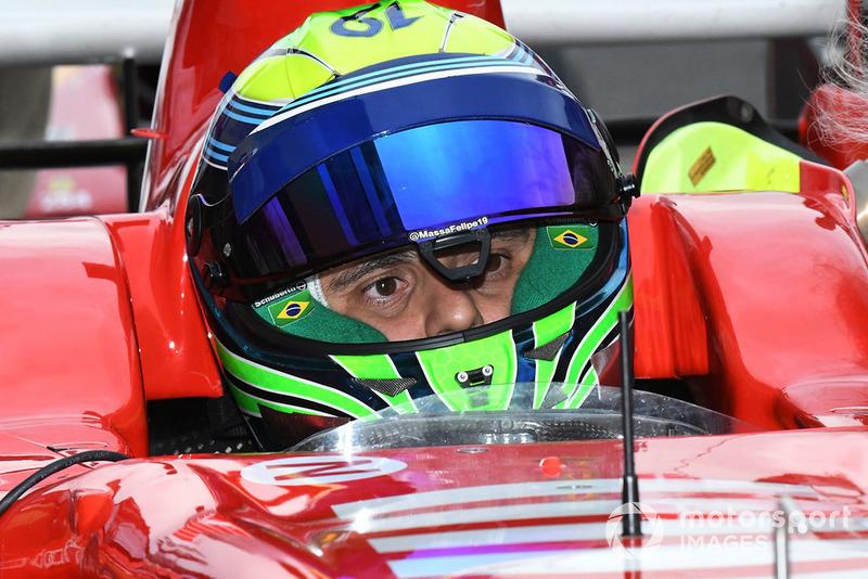 Фелипе Масса, Ferrari, Legends F1 30th Anniversary Lap Demonstration