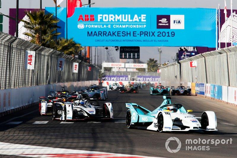 Oliver Turvey, NIO Formula E Team, NIO Sport 004, Jose Maria Lopez, GEOX Dragon Racing, Penske EV-3, Daniel Abt, Audi Sport ABT Schaeffler, Audi e-tron FE05