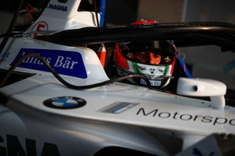 Antonio Felix da Costa, BMW I Andretti Motorsports, BMW iFE.18 in the garage