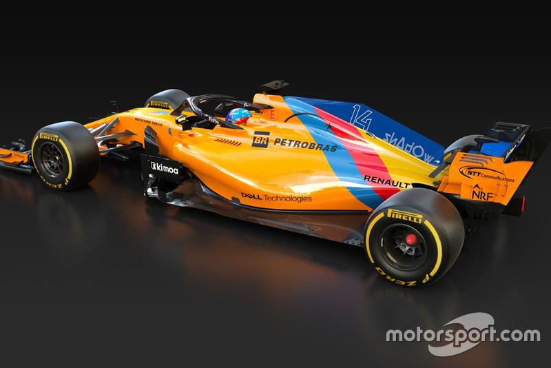 Speciale livery voor de afscheidsrace van Fernando Alonso