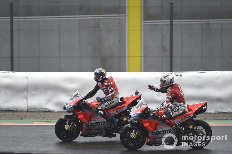 Michele Pirro, Ducati team, Andrea Dovizioso, Ducati Team
