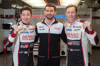 Поул-позиуція: #7 Toyota Gazoo Racing Toyota TS050, Майк Конвей, Камуі Кобаясі, Хосе Марія Лопес