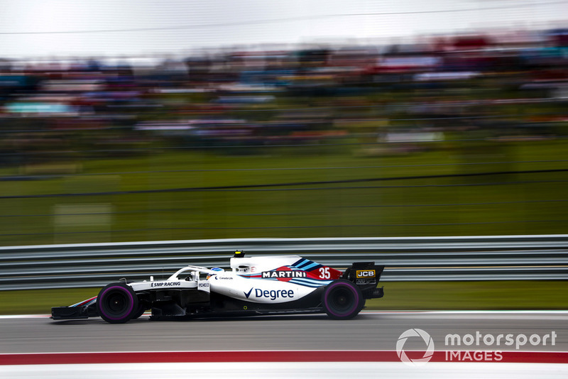 14º Sergey Sirotkin, Williams FW41