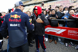 Max Verstappen, Red Bull Racing ve Lewis Hamilton, Mercedes AMG F1