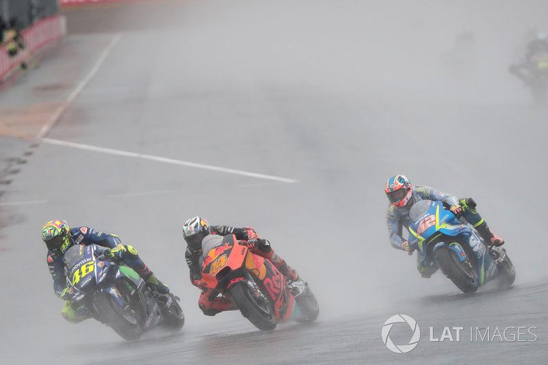 Valentino Rossi, Yamaha Factory Racing, Pol Espargaro, Red Bull KTM Factory Racing