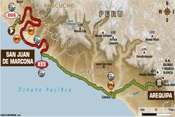 Stage 5: San Juan de Marcona - Arequipa