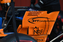 McLaren MCL33 rear wing detail