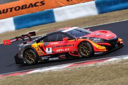 #8 Autobacs Racing Team Aguri Honda NSX Concept GT: Tomoki Nojiri, Takuya Izawa