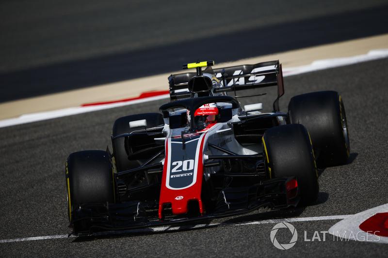 6: Kevin Magnussen, Haas F1 Team VF-18 Ferrari, 1'29.358