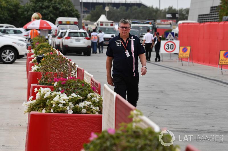 Otmar Szafnauer, director de operaciones del equipo Force India F1