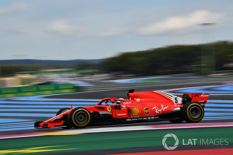 France: Sebastian Vettel