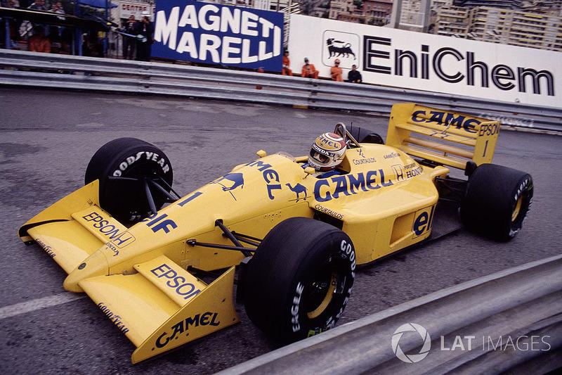 19: Nelson Piquet: 116 grandes premios (el 56,86% de los disputados)