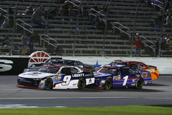 William Byron, JR Motorsports Chevrolet and Elliott Sadler, JR Motorsports Chevrolet