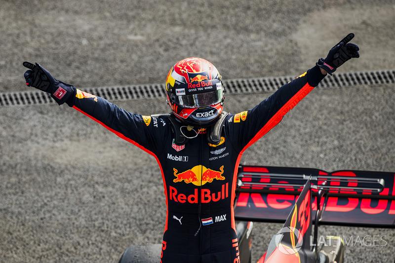 18º GP de México 2017 - Victoria para Max Verstappen, Red Bull Racing