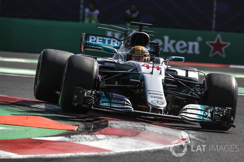 3º Lewis Hamilton, Mercedes-Benz F1 W08