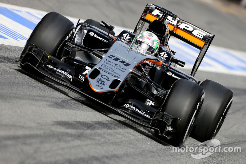 Alfonso Celis Jr., Sahara Force India F1
