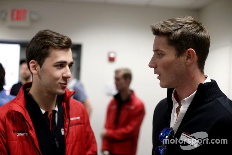 Sven Müller, Manthey Racing y Kevin Estre, Porsche Team North America