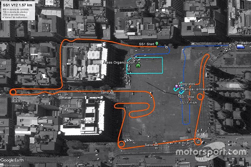 Mapa de la etapa urbana de Ciudad de México