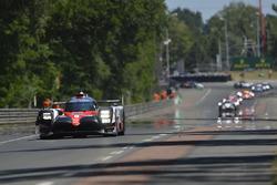 #9 Toyota Gazoo Racing Toyota TS050 Hybrid: Jose Maria Lopez, Yuji Kunimoto, Nicolas Lapierre