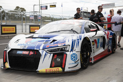 #75 Jamec Pem Racing, Audi R8 LMS: Markus Winkelhock, Robin Frijns, Frank Stippler