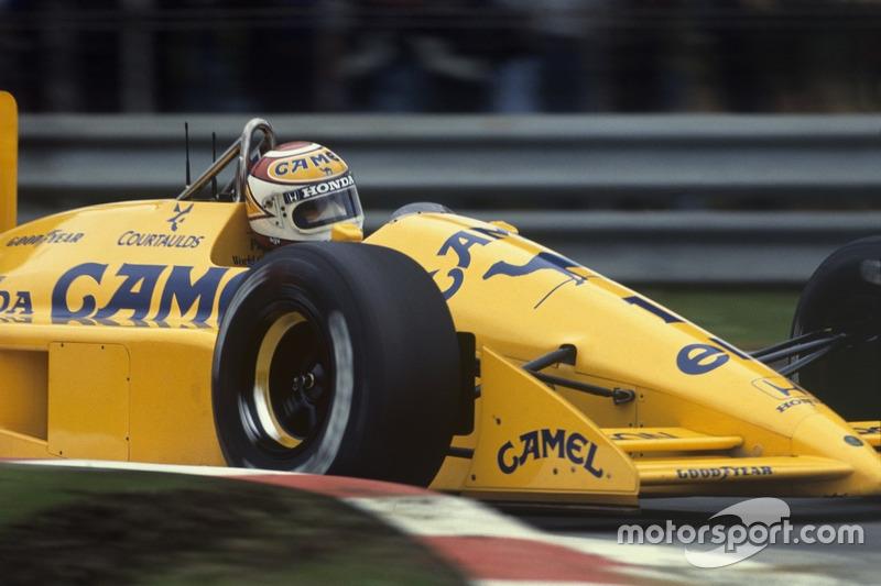 1988/1989: 2 sieglose Jahre bei Lotus