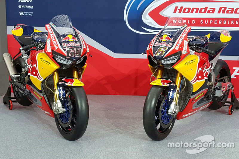 Motos de Nicky Hayden, Honda World Superbike Team, Stefan Bradl, Honda World Superbike Team