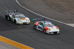 #54 CORE autosport Porsche 911 GT3R: Jon Bennett, Colin Braun, Nic Jönsson, Patrick Long, #18 DAC Mo