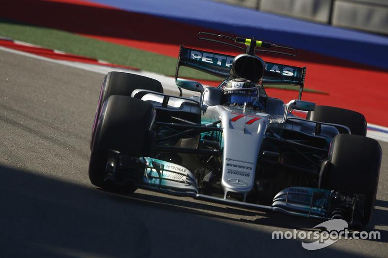 2017: Valtteri Bottas, Mercedes AMG F1 W08