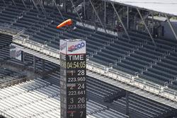 Starker Wind am Indianapolis Motor Speedway