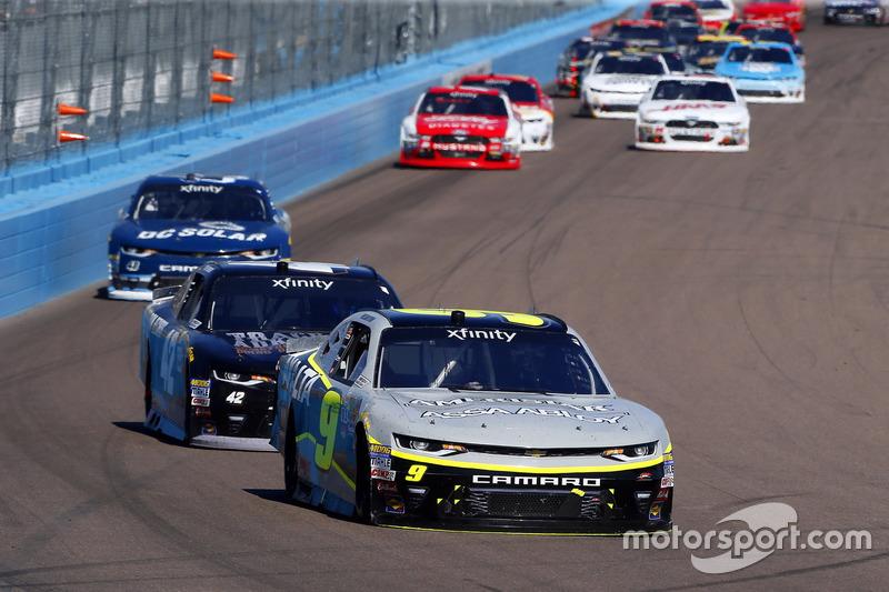 William Byron, JR Motorsports, Chevrolet; Tyler Reddick, Chip Ganassi Racing, Chevrolet
