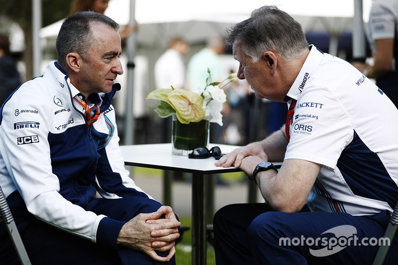Paddy Lowe, Williams director técnico en jefe