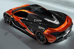 McLaren P1 in McLaren livery