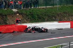 Unfall: Bernd Schneider, AMG-Mercedes C-Klasse