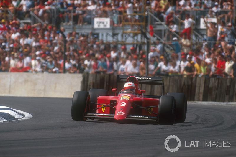 23. Найджел Мэнселл, Ferrari 641, Гран При Великобритании-1990 (Сильверстоун): 1:07,428