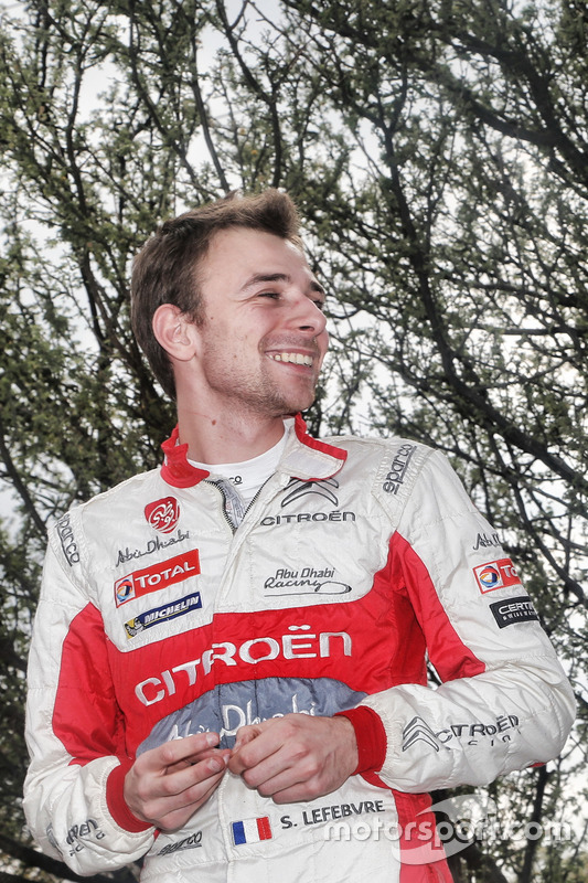 Stéphane Lefebvre, Citroën C3 WRC, Citroën World Rally Team