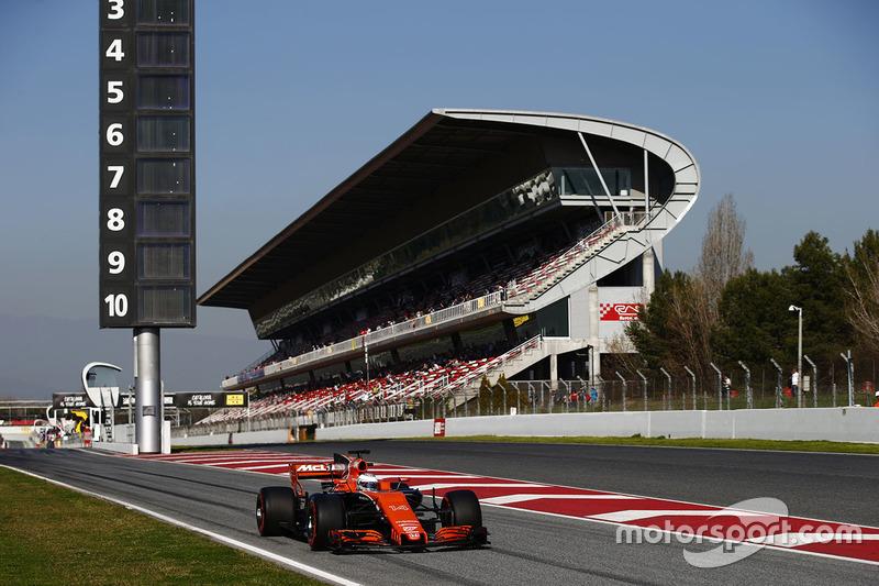 F1 Calendario, pilotos y programa de test para 2018