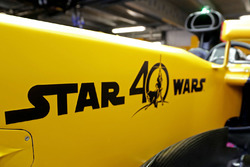 Star wars logo on the Renault Sport F1 Team RS17