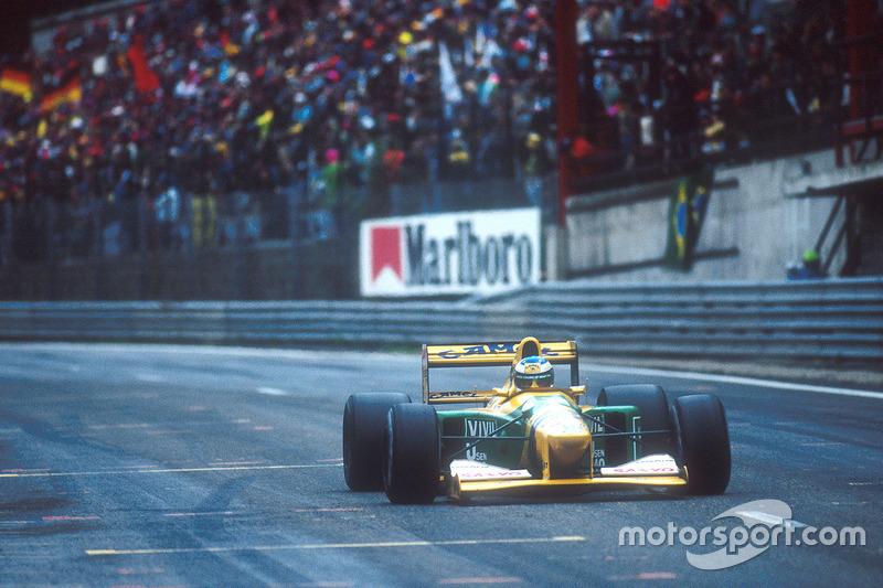 1992. Переможець: Міхаель Шумахер, Benetton-Ford