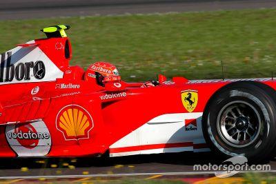 Valentino Rossi Ferrari teszt