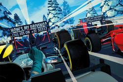 Рождественская открытка Red Bull Racing
