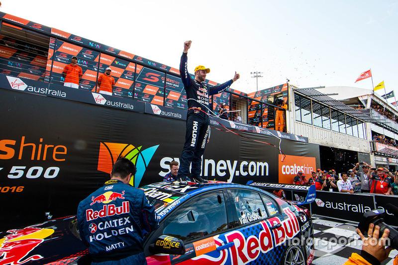Ganador, Shane van Gisbergen, Triple Eight Race Engineering Holden