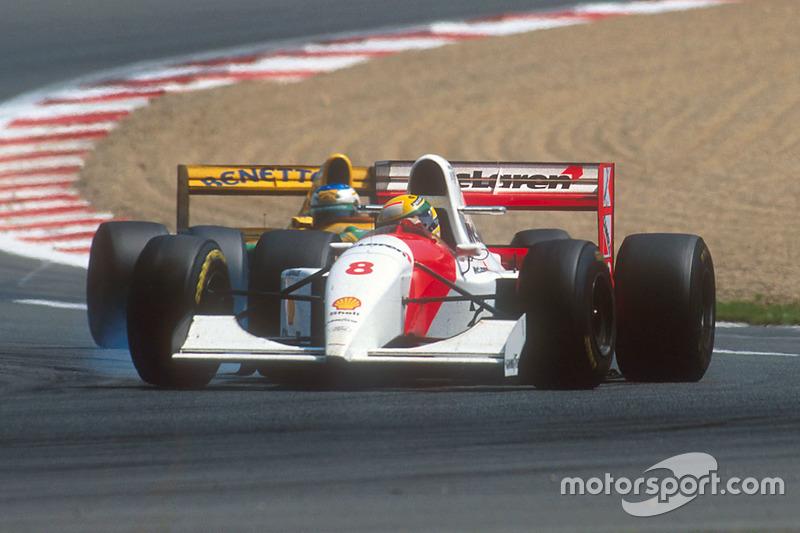 Ayrton Senna, McLaren MP4/8 Ford (1993)
