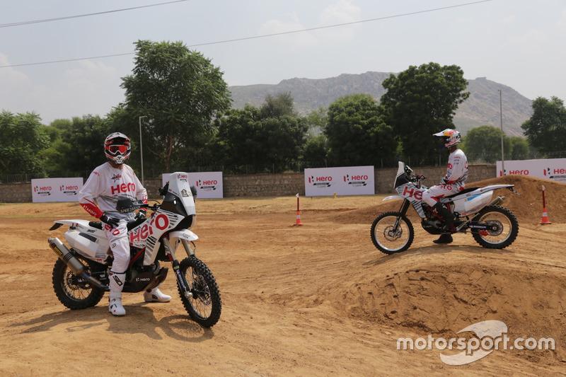 Joaquim Rodrigues and CS Santosh, Hero MotoSports