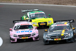 Пол ди Реста, Mercedes-AMG Team HWA, Mercedes-AMG C63 DTM и Лукас Ауэр, Mercedes-AMG Team Mücke, Mercedes-AMG C63 DTM