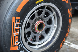 Pirelli band detail